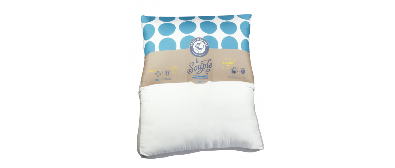 L'oreiller géant - souple - 120 x 140 cm